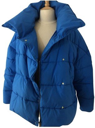 Closed Blue Leather Jacket for Women