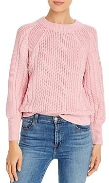T Tahari Multi-Rib Crewneck Sweater