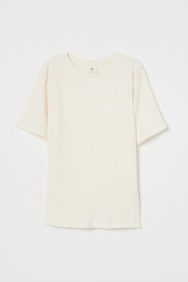 H&M Relaxed T-shirt - White