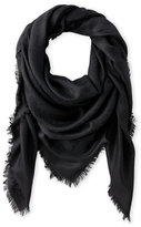 Liberty of London Designs Jacquard Wool Blend Scarf