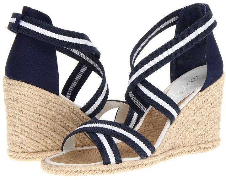 Lauren Ralph Lauren Iliana (WH/MODN NV) - Footwear