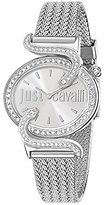 Just Cavalli Women's R7253591503 Sin Silver Stainless steel Band Watch.