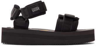 Suicoke Black CEL-VPO Sandals