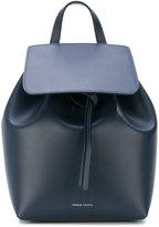 Mansur Gavriel foldover logo backpack