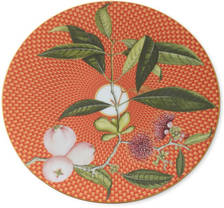 Raynaud Tresor Fleuri Water Apple Dessert Plate