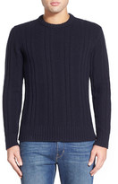 Jack Spade Pollock Ribbed Crew Neck Sweater