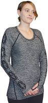 SnowAngel Women's Snow Angel Marlene Te Ara Printed Crewneck Top