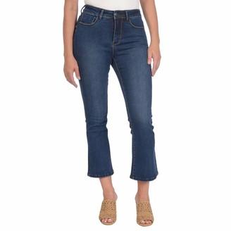 Lola Jeans Women's Plus Size Keira Crop