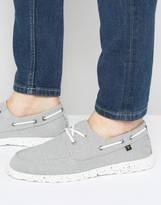 Farah Clegg Canvas Boat Shoes