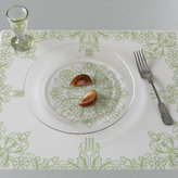 Modern-Twist Placemat Damask Green