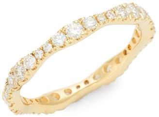 Nephora 14K Yellow Gold & Diamond Graduating Band Ring