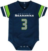 Baby Seattle Seahawks Russell Wilson Jersey Bodysuit