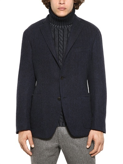 Boglioli Dyed Herringbone Jacket