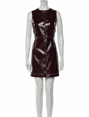 Ganni Crew Neck Mini Dress w/ Tags