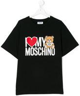 Moschino Kids logo printed T-shirt