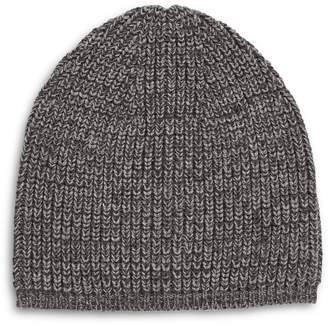 AllSaints Twisted Half Cardigan Wool-Blend Beanie