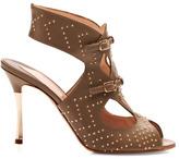 Nicholas Kirkwood Preorder Khaki Studded Sandal