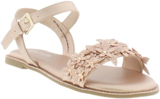 Kenneth Cole Reaction Reaction Kenneth Cole Brie Crystal Flower Sandal