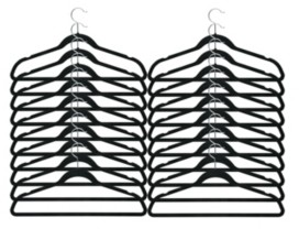 Honey-Can-Do 20-Pk. Soft Touch Flocked Suit Hanger