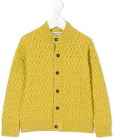 Dondup Kids - chunky cardigan - kids - Silk/Polyamide/Wool - 4 yrs