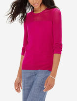 The Limited Open Stitch Sleeve Sweater