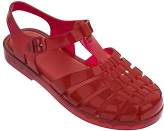 Melissa Womens Possession Jelly Sandals Red - Red / UK2-3/Eur 35.36