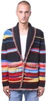 Alanui Sarape Landscape Cashmere Knit Cardigan