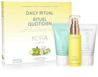 KORA ORGANICS Daily Ritual Kit - Oily/Combinaton