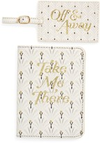 Anthropologie Home Passport & Luggage Tag Set