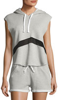 LAmade Lincoln Hoodie Top, Light Gray