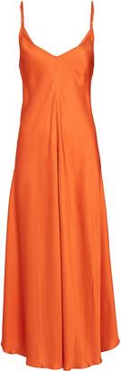 L'Agence Lorraine Midi Slip Dress