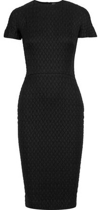 Victoria Beckham Matelasse And Stretch-knit Dress