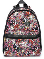 Le Sport Sac Bambi Floral Basic Backpack