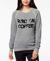 Bow & Drape Runs On Coffee Graphic Sweatshirt
