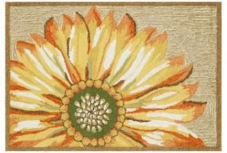 Liora Manné Frontporch Sunflower Yellow Rug
