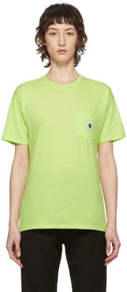 Carhartt Work In Progress Green Carrie T-Shirt