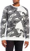 Iuter Full Print Crew Neck Sweatshirt
