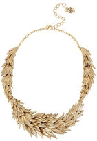 Betsey Johnson Angels And Wings Feathered Collar Necklace