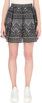 Maje Jour lace skirt