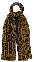 Louis Vuitton Cashmere Animal Print Stole