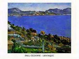 Cezanne 1art1 Posters: Paul Poster Art Print - L'estaque (28 x 20 inches)