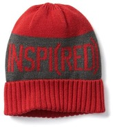 Gap GapKids x (RED) graphic beanie
