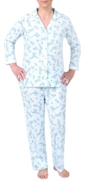 Miss Elaine Printed Pajamas Set