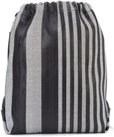 Proenza Schouler striped drawstring backpack - women - Acetate - One Size