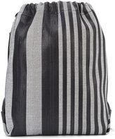 Proenza Schouler striped drawstring backpack - women - Acetate - One Size