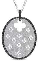 Catherine Malandrino Diamond Pendant With Chain.