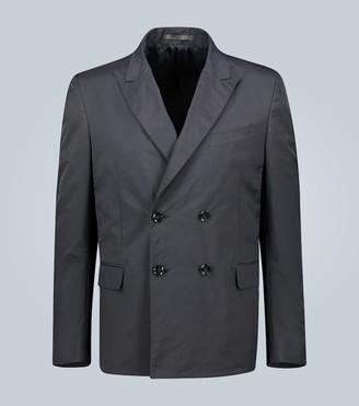 Valentino Technical double-breasted blazer