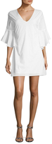 Lucca Couture Poplin Fluted Dress