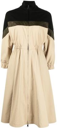 Moncler Colour-Block Midi Dress