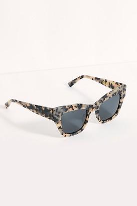 Free People Decker Cat Eye Polarized Sunglasses